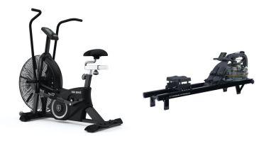 Titanium Strength Pack Bicicleta de Ar + Remo de Agua Pro