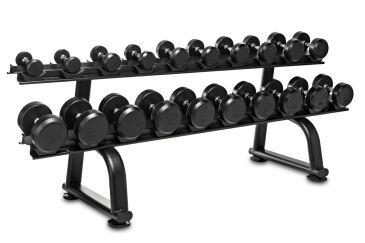 Titanium Strength Conjunto Halteres 7.5 - 30kgs + Rack