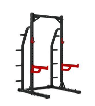 Titanium Strength Commercial HD Half Rack - X Line, Squat, Rack, Press, Shoulder, Chest, Home Workout, Home Gym, Functional, Bar, Fitness, Crossfit